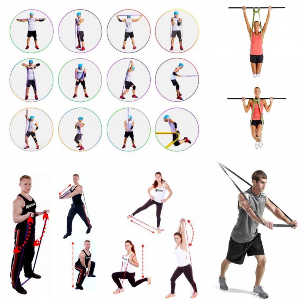 качественная упражнения со жгутом с картинками пожелать